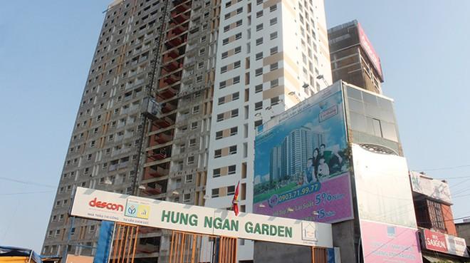 Hưng Ngân Garden giao nhà vượt tiến độ