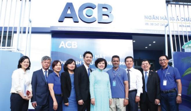 ACB xác lập vị thế dẫn đầu thị trường