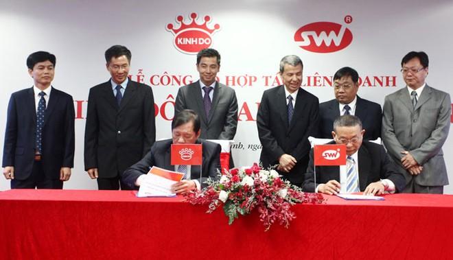 Kinh Đô liên doanh với Saigon Ve Wong đầu tư nhà máy