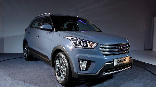 Cận cảnh Hyundai Creta - đối thủ của Ford Ecosport vừa trình làng