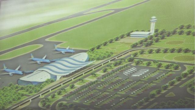Sẽ phân kỳ đầu tư Sân bay Quảng Ninh theo hai giai đoạn