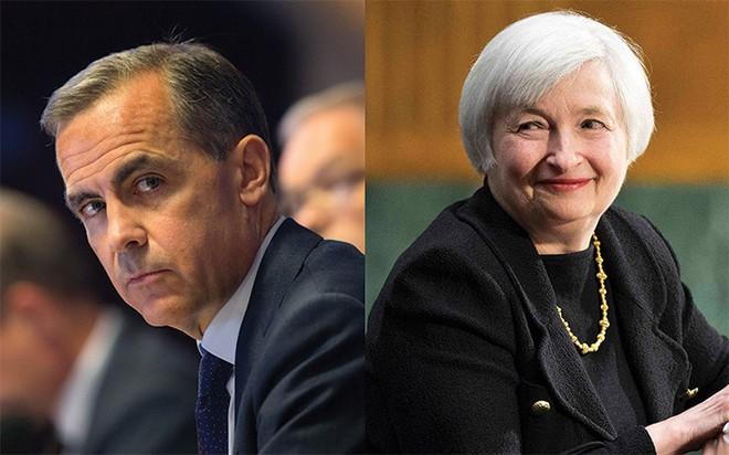 Anh hay Mỹ sẽ nâng lãi suất trước?