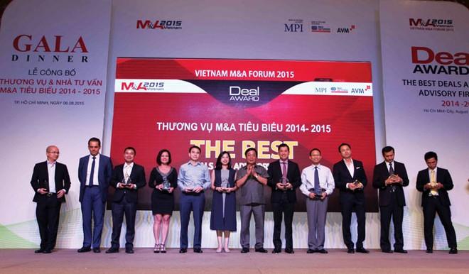 Thương vụ và nhà tư vấn M&A tiêu biểu  2014 - 2015