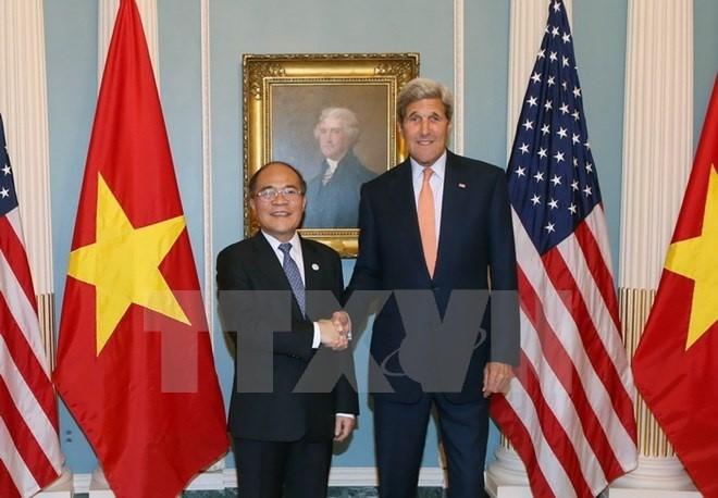 Hoa Kỳ sẵn sàng hợp tác với Việt Nam trong xây dựng, sửa đổi luật