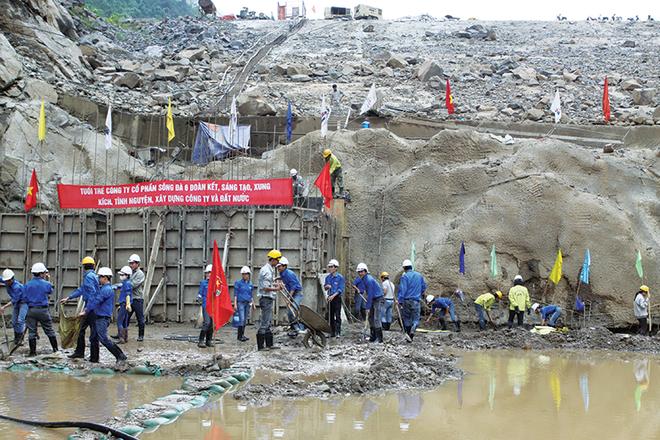 Doanh nghiệp xây dựng, địa ốc tự tin về đích lợi nhuận 2015