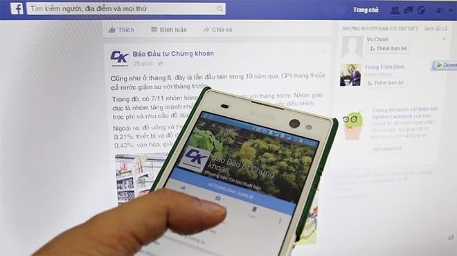 Làm báo thời cạnh tranh với… Facebook