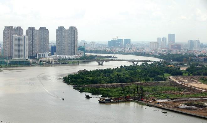 Hàng tỷ USD đang được rót vào Khu đô thị Thủ Thiêm