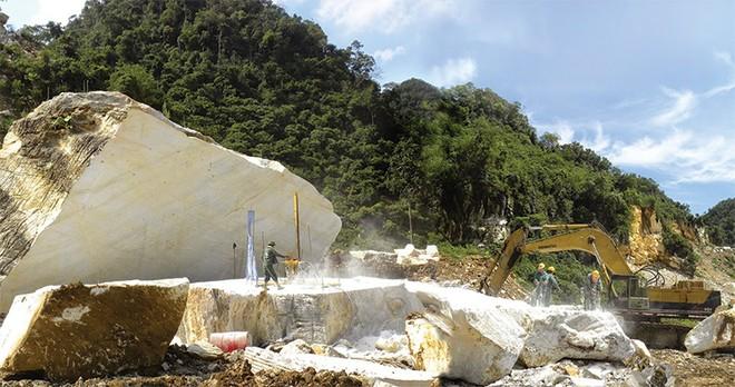 Tranh chấp tại mỏ đá hoa trắng ở Lục Yên chưa kết thúc