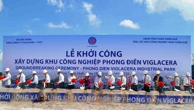 Viglacera đổ gần 700 tỷ đồng xây KCN Phong Điền