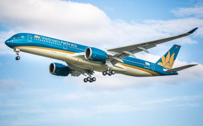 Vietnam Airlines chính thức đưa Airbus A350 khai thác đường bay quốc tế