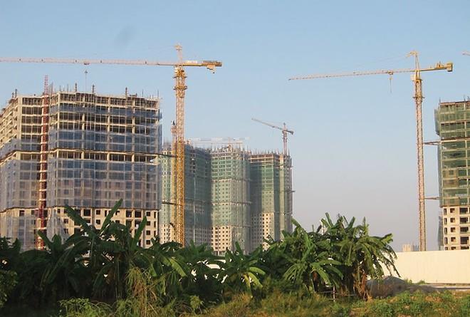 """Những dự án chung cư """"ăn theo"""" hạ tầng khu dân cư... nhà nghèo"""