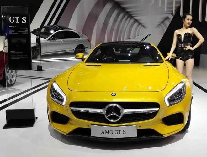 Mercedes Benz đem dàn xe trị giá 50 tỷ đồng đến Vietnam MotorShow 2015