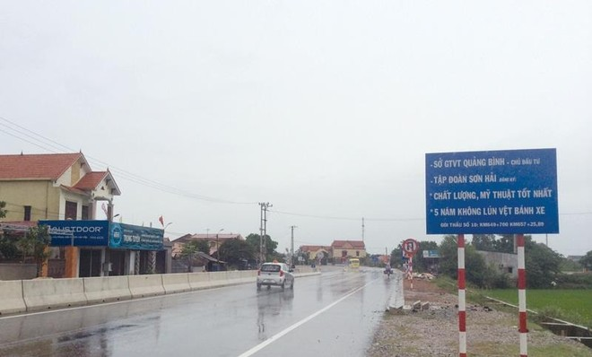 Sai sót lớn trong giải phóng mặt bằng Dự án mở rộng Quốc lộ 1 qua Quảng Bình