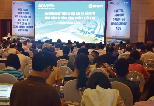 IPO Cảng hàng không Việt Nam:11.800 đồng/CP có hợp lý?
