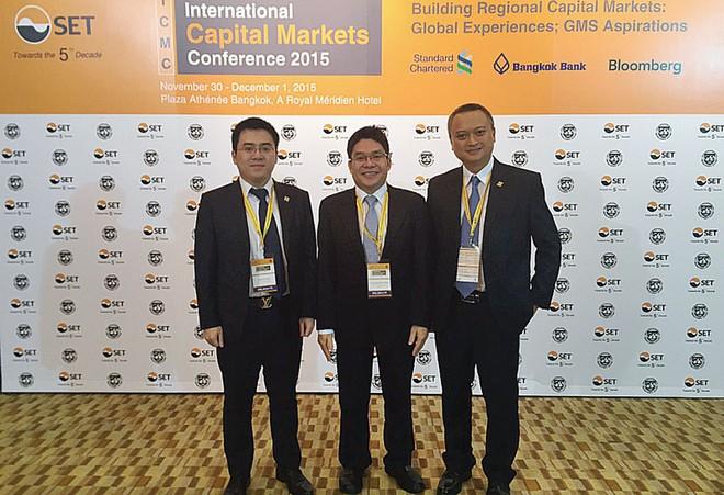 HNX tham dự Hội nghị thị trường vốn quốc tế