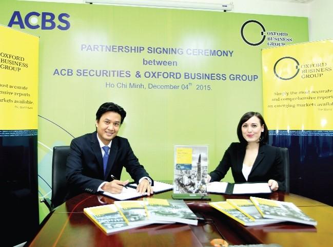 ACBS hợp tác với OBG thực hiện các báo cáo nghiên cứu về thị trường