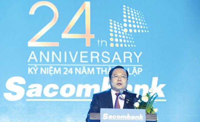 Sacombank: Vươn lên vị trí Top 5 ngân hàng lớn nhất