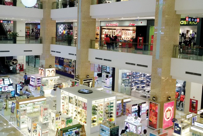 Mặt bằng bán lẻ Hà Nội 2016, sôi động nhưng giá khó tăng