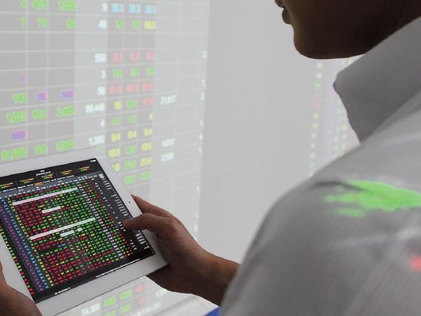 Thị trường chứng khoán tháng 1: Giảm vì áp lực bên ngoài