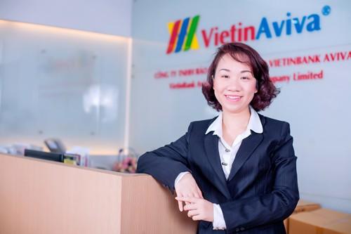 Năm 2015, doanh thu của VietinAviva tăng 400%