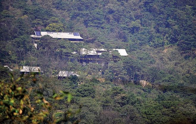 Cận cảnh khu resort 4 sao không phép giữa Vườn Quốc gia Ba Vì