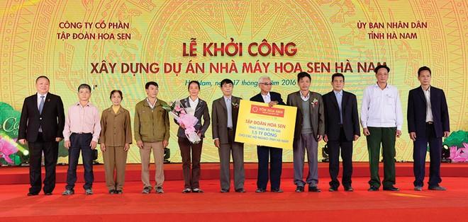 Hoa Sen đầu tư 3.000 tỷ đồng xây nhà máy tại Hà Nam