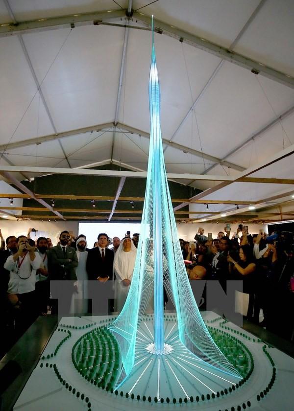 Đầu tư 1 tỷ USD xây tòa tháp mới, cao nhất thế giới tại Dubai