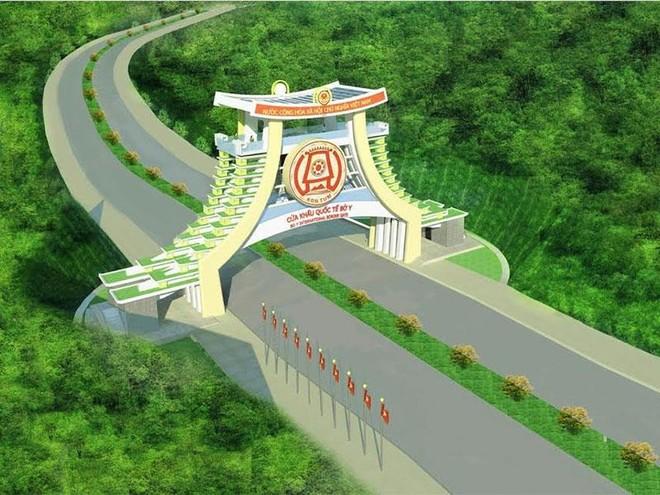 Đầu tư 32,9 tỷ đồng xây dựng Quốc môn cao 21m tại ngã ba Đông Dương