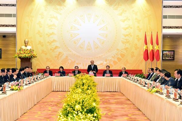 Thủ tướng Nguyễn Xuân Phúc: Sẽ kế thừa, phát huy truyền thống các Chính phủ tiền nhiệm
