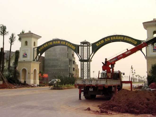 Cận cảnh Dự án Nam An Khánh vừa được Sudico bán 2.600 tỷ đồng
