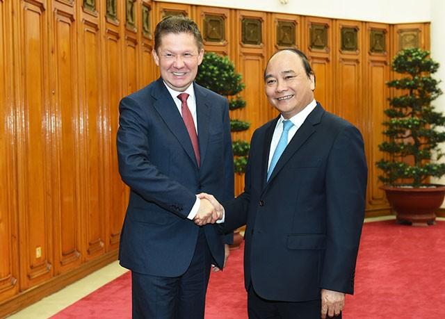 Gazprom và PVN sẽ ký thêm văn bản hợp tác sản xuất điện tại Việt Nam