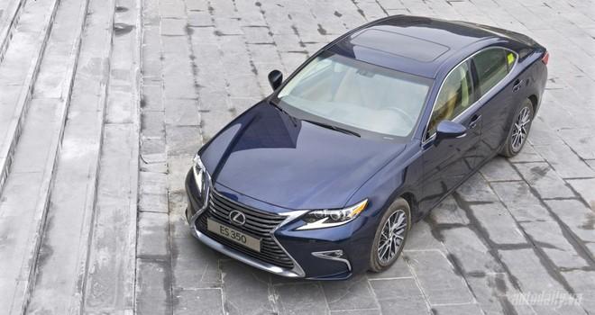 Toyota triệu hồi 113 xe Lexus ES 250 và ES 350 tại Việt Nam