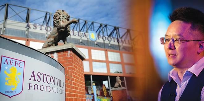 Sau bất ngờ mang tên Leicester, Aston Villa đón ông chủ mới Trung Quốc