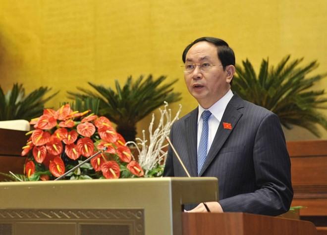 Chủ tịch nước Trần Đại Quang: Năng lượng sẽ tiếp tục là một trong những lĩnh vực quan trọng của hợp tác Việt-Nga