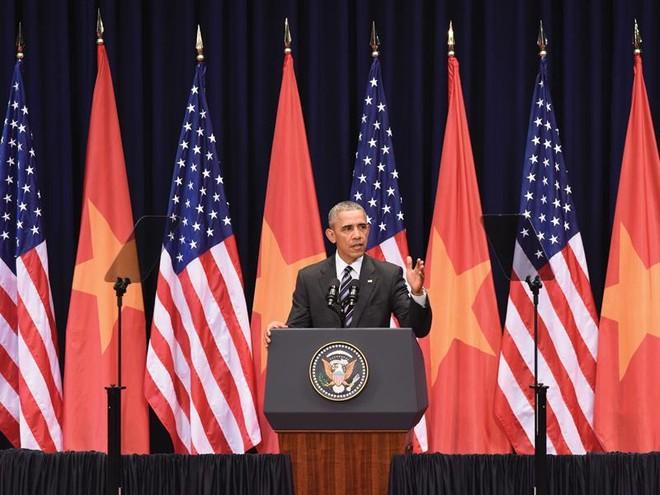 Tổng thống Obama: Chúng tôi muốn ưu tiên đối tác toàn diện với Việt Nam