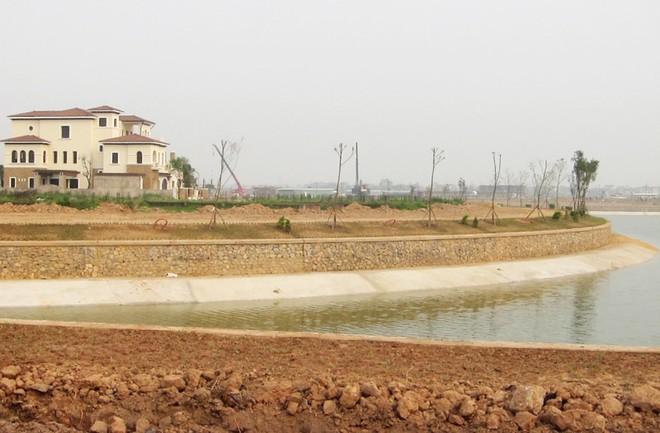 """Bất động sản Nam An Khánh rầm rộ """"ăn theo"""" hạ tầng Dự án Vinhomes Thăng Long"""