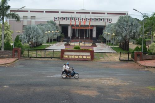 Nhiều sai phạm tại dự án Trung tâm hội nghị tỉnh Đắk Nông