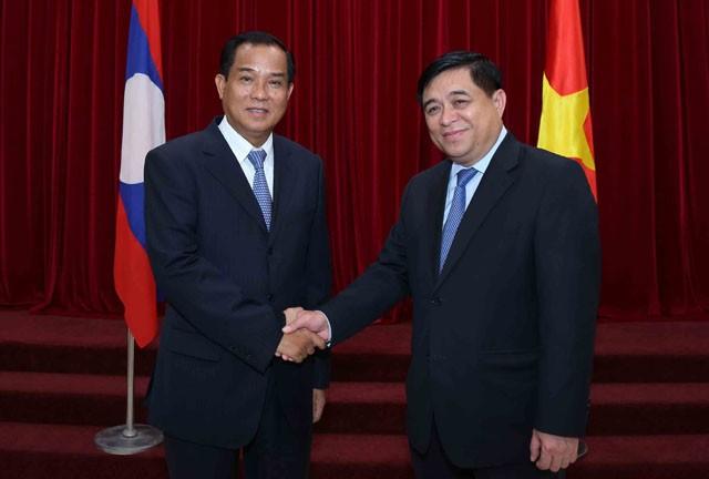 Tăng cường hợp tác, trao đổi giữa hai Bộ Kế hoạch và Đầu tư Việt Nam - Lào