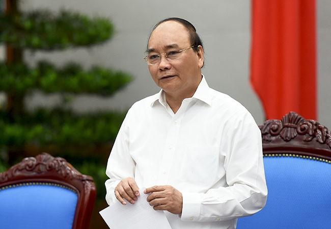 Thủ tướng Nguyễn Xuân Phúc: Văn bản sai sót thì Bộ trưởng chủ trì phải chịu trách nhiệm