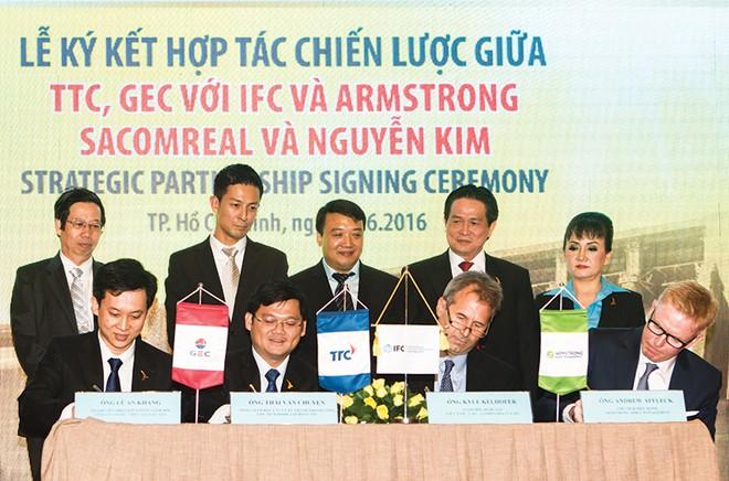 Phát triển năng lượng sạch: TTC và cái bắt tay lịch sử với các tổ chức quốc tế