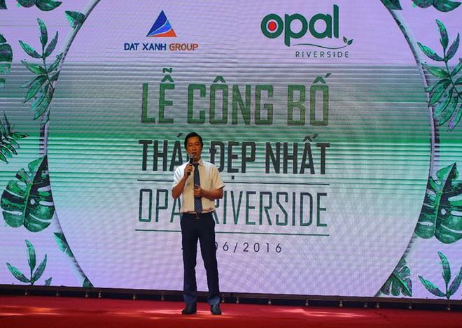 Hơn 500 khách hàng tham dự lễ công bố tháp đẹp nhất Dự án Opal Riverside