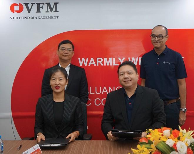 Chứng chỉ quỹ ETF VFMVN30 giao dịch trên sàn Hàn Quốc