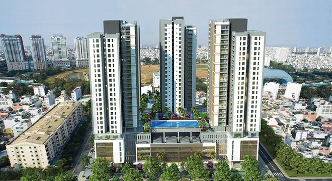 """Xi Grand Court gia nhập """"cuộc chơi"""" bất động sản cao cấp"""