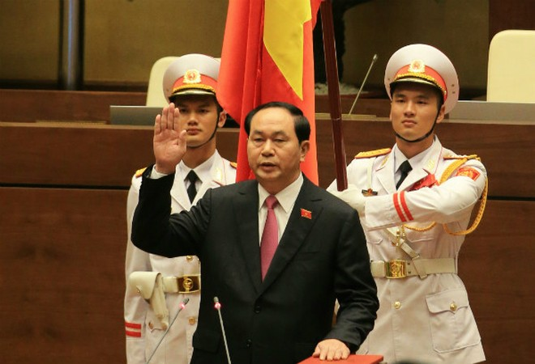 Chủ tịch nước Trần Đại Quang: Bảo vệ lợi ích tối cao của quốc gia, dân tộc (*)