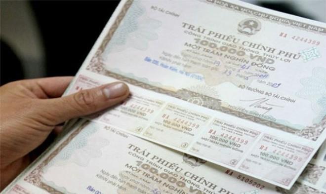 Huy động thêm 4.072 tỷ đồng trái phiếu Kho bạc