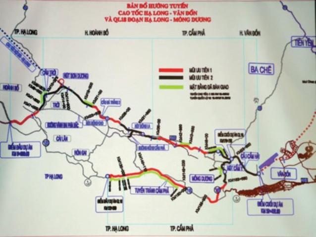Quảng Ninh đề nghị Thủ tướng được đầu tư cao tốc Vân Đồn - Móng Cái