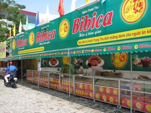 Trung thu 2016, Bibica tung ra thị trường 550 tấn sản phẩm