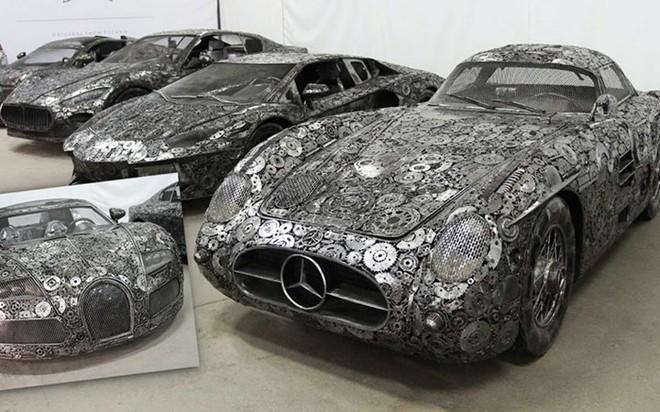 Dàn siêu xe chế tạo từ đồ phế liệu sẽ góp mặt tại Dubai Auto Show 2017