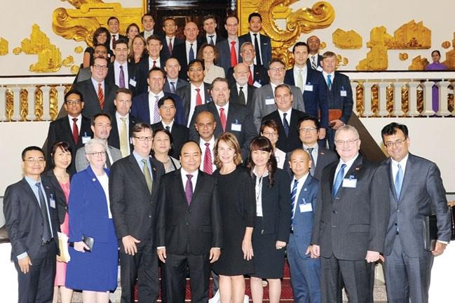Doanh nghiệp Hoa Kỳ khẳng định quyết tâm phát triển kinh tế Việt Nam