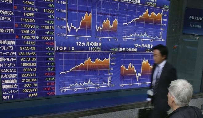 Chứng khoán châu Á miễn nhiễm với việc Fed tăng lãi suất